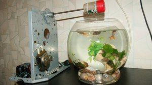 Autokláv pre akvarijné ryby
