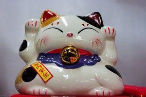 Japonský tribarevný kočičí suvenír