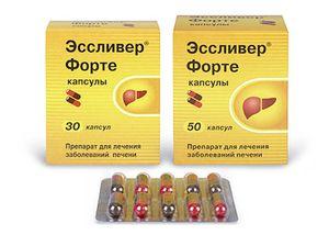 Essliver forte je liek, ktorý pomôže pečeni zotaviť sa rýchlejšie.