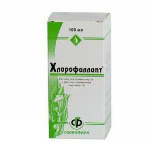 Chlorofyllipt: inštrukcia a použitie lieku