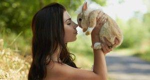 Ako pomenovať králičie dievča