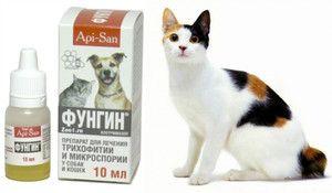 Pokyny na používanie fungínov pre mačky a psy