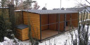Zimné klietky pre veľkých psov
