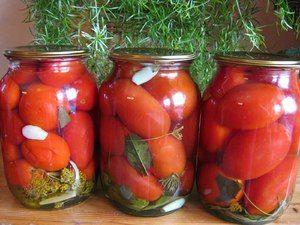 Ako marinovať paradajky na zimu