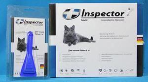 Drops inšpektor pre mačky - popis a inštrukcie
