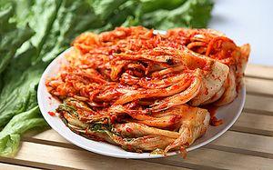 Klasický recept na kimchi z Pekinskej kapusty v kórejčine