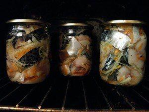 Konzervované jedlá z makrela doma - recepty