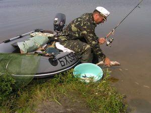 Rybolov v regióne Brest