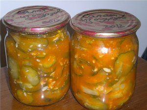 Najlepšie recepty lecho uhoriek na zimu