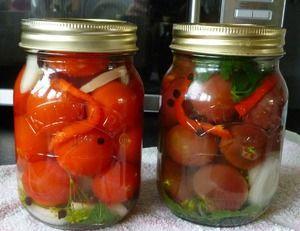 Ako variť paradajky na zimu