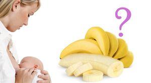 Môže banány s dojčením