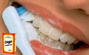Môžem bieť zubami so sóda - predpismi a predpismi na bielenie