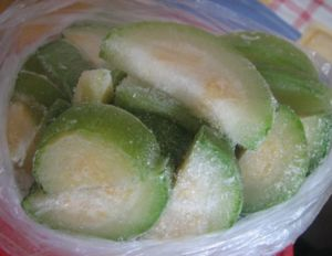 Je možné zmraziť cukety na zimu čerstvé: ako to urobiť
