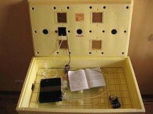Zariadenie inkubátora Popelka