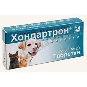 Použitie lieku chondartron