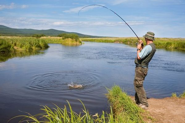 Sezóna zimného rybolovu v regióne Samara