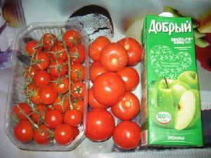 Paradajky v jablkovej šťave na zimu: recepty na varenie