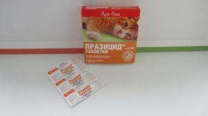 Parazikid má dve formy uvolňovania - suspenzie a tablety