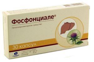 Phosphontsiale je liek, ktorý tiež pomáha obnoviť pečeň po zaťažení.
