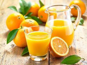 Pomarančový džús doma