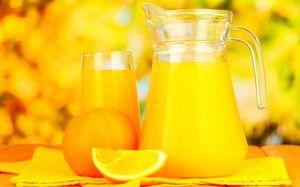Šťava z mrazených pomarančov