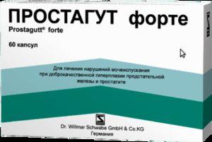 Prostagut Forte - zloženie, inštrukcia