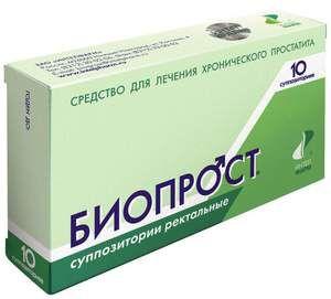 Bioprost - fotografia lieku na prostatitídu