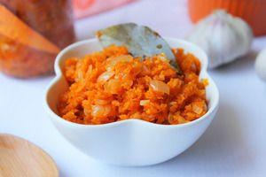 Jednoduché odrody mrkvového kaviáru pre zimné recepty