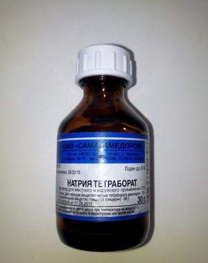 Roztok boraxu v glyceríne: návod na použitie