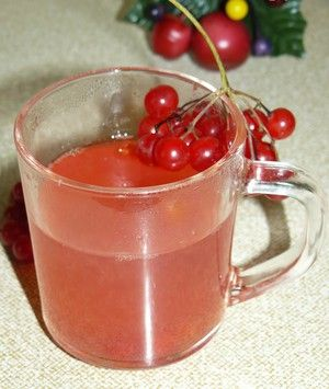 Recepty kompoty z Kaliny a jej užitočné vlastnosti