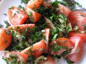 Ako variť ľahko solené rajčiny