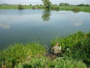 Rybolov na jazere