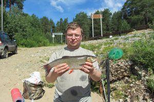 Letný rybolov na jazerách Kirov
