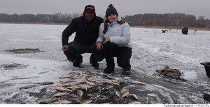 Chytanie rýb v riekach