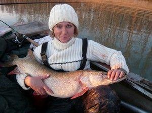 Rybolov v regióne Novosibirsk