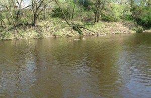 Vitebský kraj malá rieka Luchos