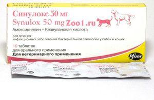 Lieky pre psy sinuloks