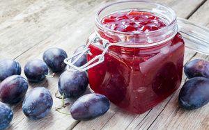 Plum jam doma: tradičné recepty