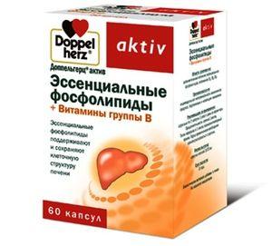 Esenciálne fosfolipidy spolu s vitamínmi