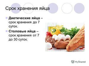 Čas použiteľnosti vajec a podmienky skladovania