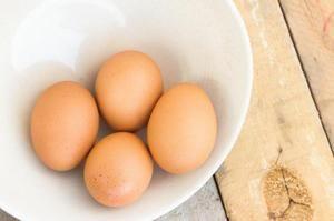 Vlastnosti surových vajec