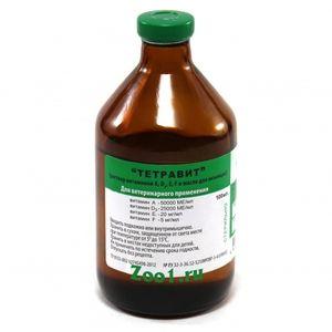 Tetravit - návod na použitie u zvierat