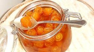 Jam z pomarančových šupiek: jednoduché recepty