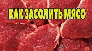 Mastené solenie doma: bravčové mäso, hovädzie mäso, kuracie mäso