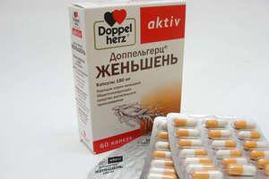 Ženšen v tabletách: užitočné vlastnosti pre mužov